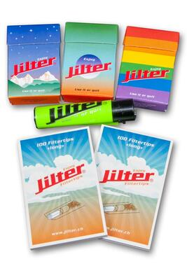 Jilter® Probier Set Long Blau