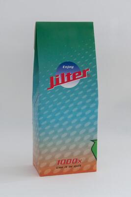 Jilter®  1'000er Bio-Beutel, 1'000 Jilter® Zigarettenfilter
