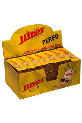Jiltip S Perfo - unbleached, Display mit 28 Filterblöcken