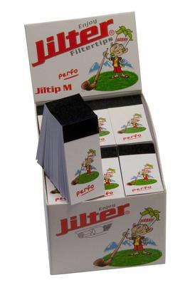 Jiltip M *FAT* Perfo, Display à 12 Stk. (Filterblättchen)