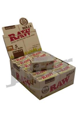 RAW Organic Hemp Rolls - 24 Rollen