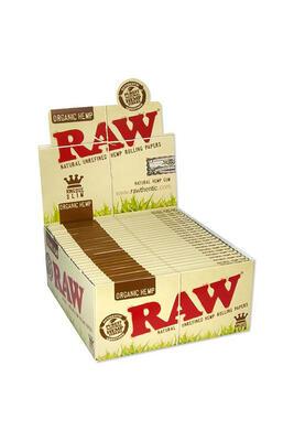 RAW Organic Hemp Kingsize Slim 50 Stk/Box