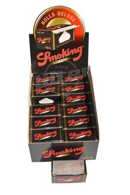 Smoking De Luxe Rolls Black - Box (Display)
