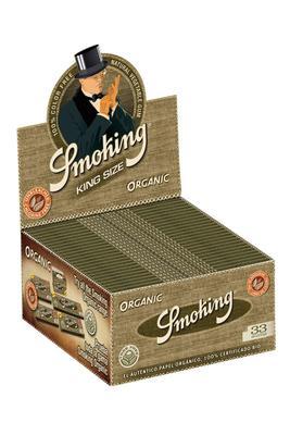 Smoking Organic Slim King Size - Box (Display)