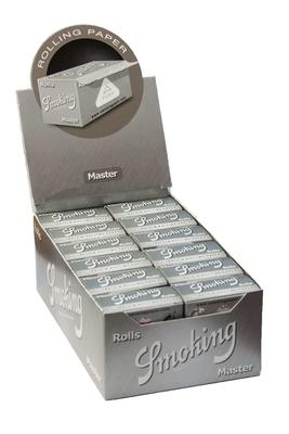 Smoking Rolls Master Silver - Box (Display)