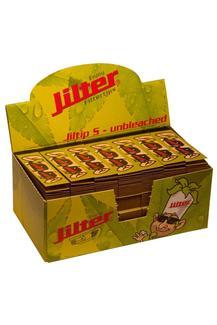 Jiltip S - unbleached, Display mit 28 Filterblöcken