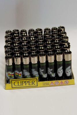 Clipper Weed Cartoon - Display