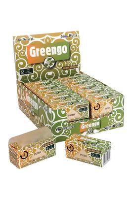 Greengo Slim Rolls Box (Display)