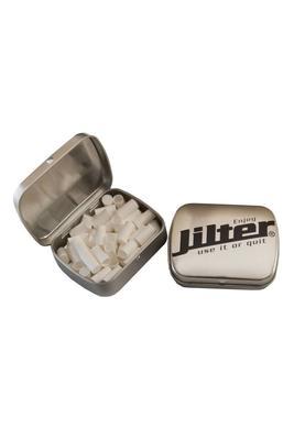 Jilter® - J-Box Silver - Metalldose mit Jilter®