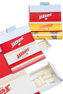 Jilter smoke-kit, Papers, Filtertips und Jilter