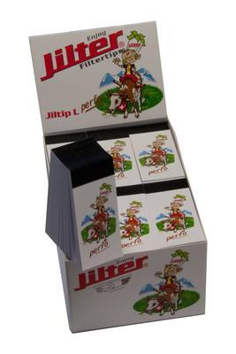 Jiltip L *FAT* Perfo, Display à 12 Stk. (Filterblättchen)