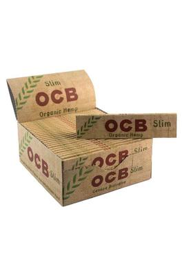OCB Slim Organic Hemp King Size - Box