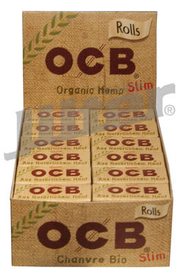 OCB Rolls Organic Hemp Slim - Box (Display)
