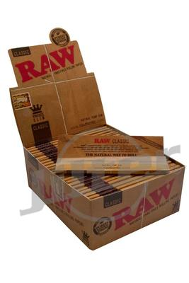 RAW Classic King Size Slim Papers (Display)