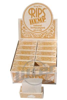 Rips Hanf King Size Braun - Box - Rips KS (Display)