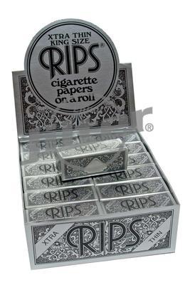 Rips Xtra thin Slim Schwarz - Box (Display)