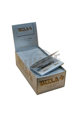 Rizla Silver Double Window - Box (Display)