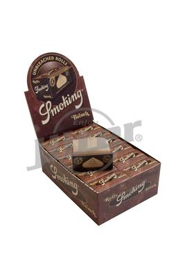 Smoking Brown Rolls Unbleached - Box (Display)
