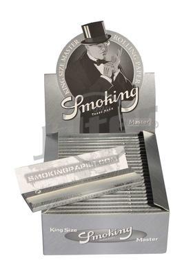 Smoking King Size Master Silver - Box (Display)