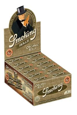 Smoking Organic Rolls - Box (Display)