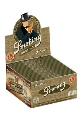 Smoking Organic Slim King Size - Box (Display)